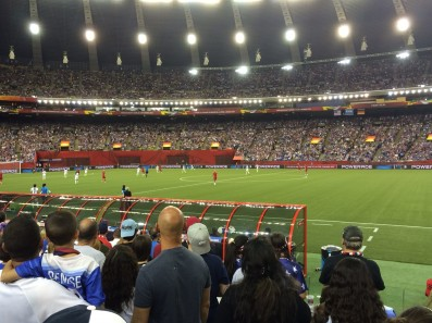 Women's World Cup 2015 Stadium taken by Emily Gutzmer.