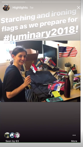 Instagram Story - Flag Ironing