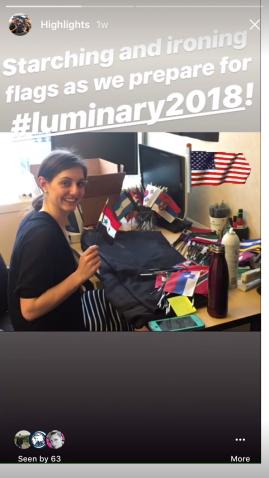 Instagram Story - Flag Ironing