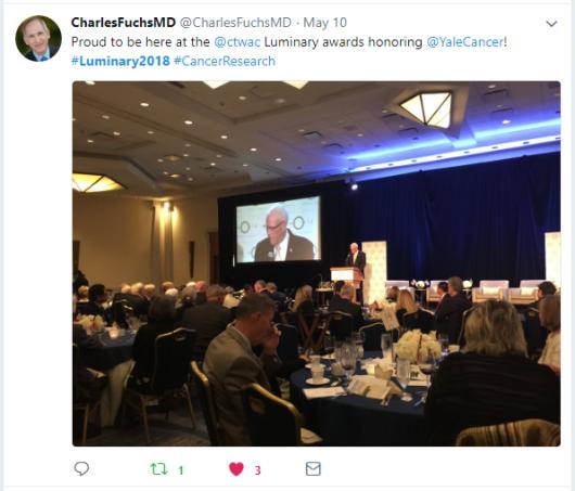Twitter - Dr. Charles Fuchs