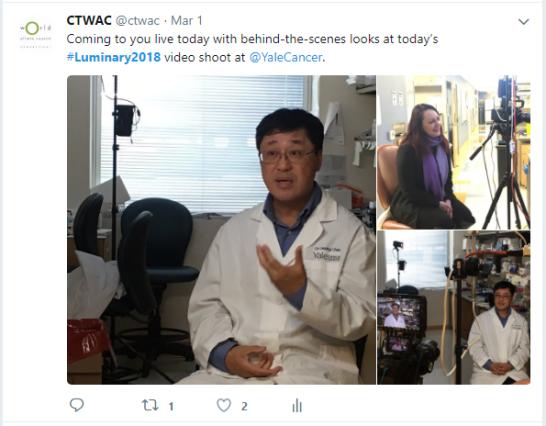 Twitter - Filming 1
