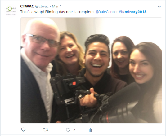 Twitter - Filming 2