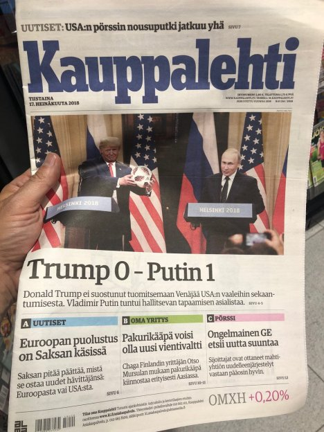 finnish headline