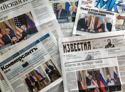 russian headlines
