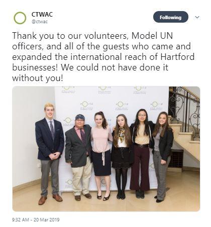CTWAC Tweet 1 (March 20)