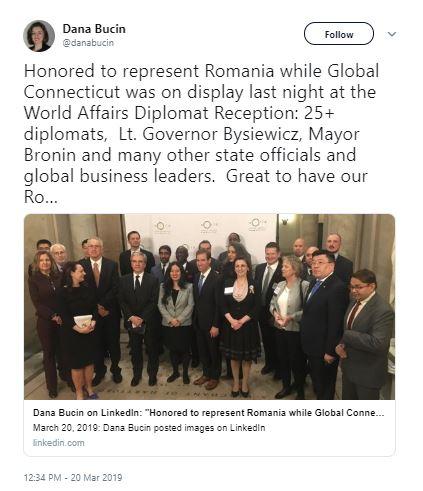 Dana Bucin Tweet (March 20)
