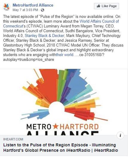 May 7 1500 - MetroHartford